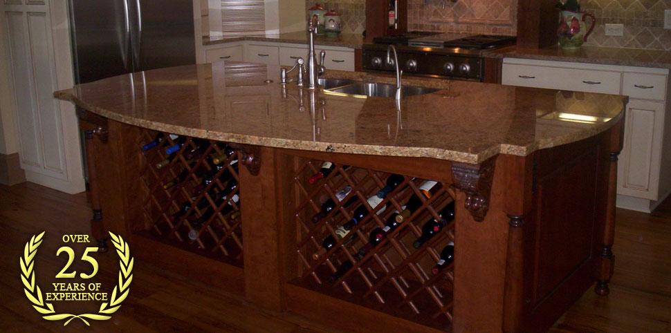 Custom Kitchen Cabinets, Bathroom Vanities And Countertops In Brunswick, GA    Cabinet Creations
